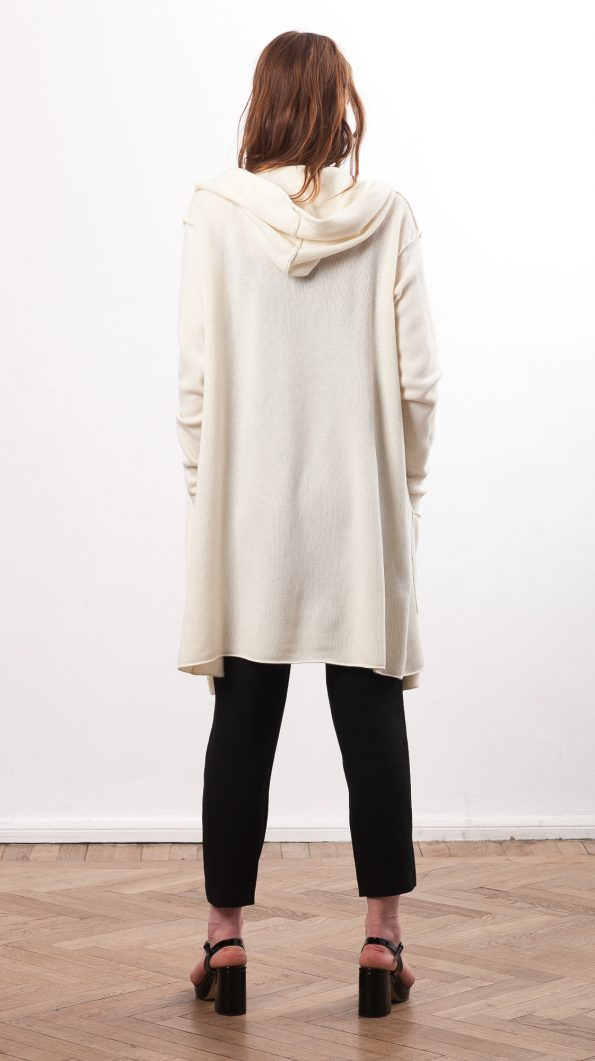 Off-white cashmere cardigan EDITH