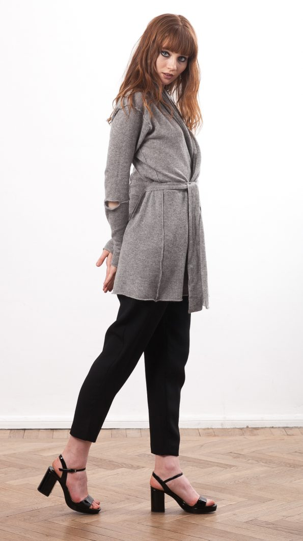 womens cashmere wrap cardigan