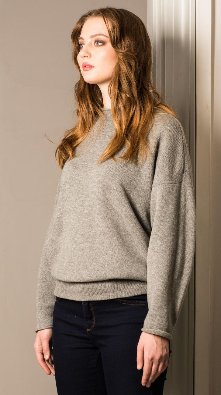grey cashmere sweater womens soft