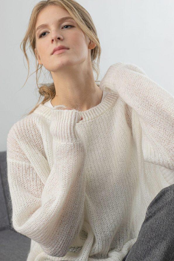 Chunky knit sweater VIKTORIA