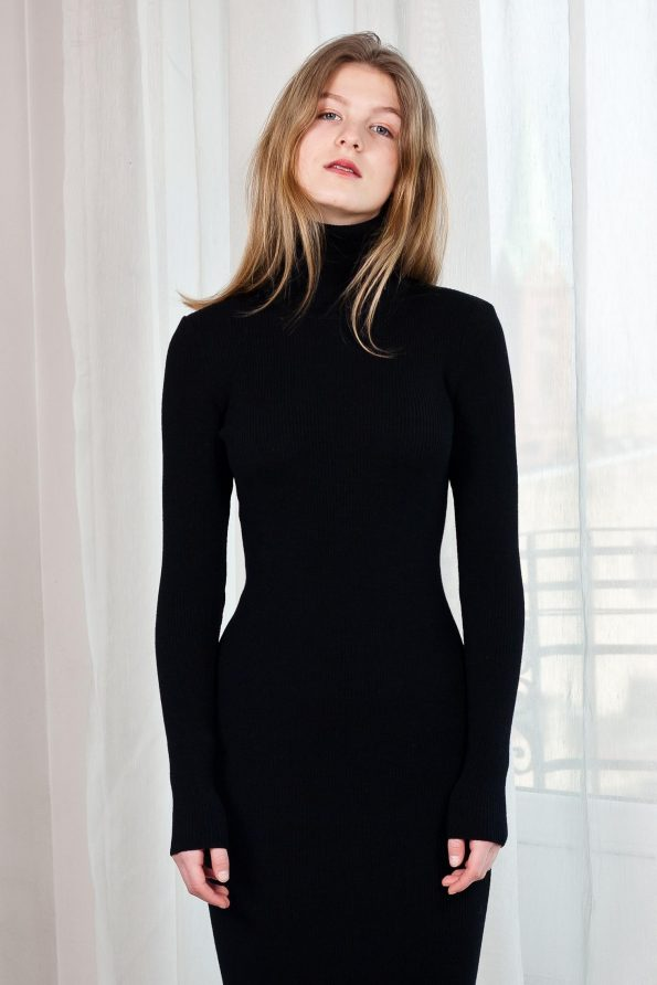 Fitted knit dress ALICE