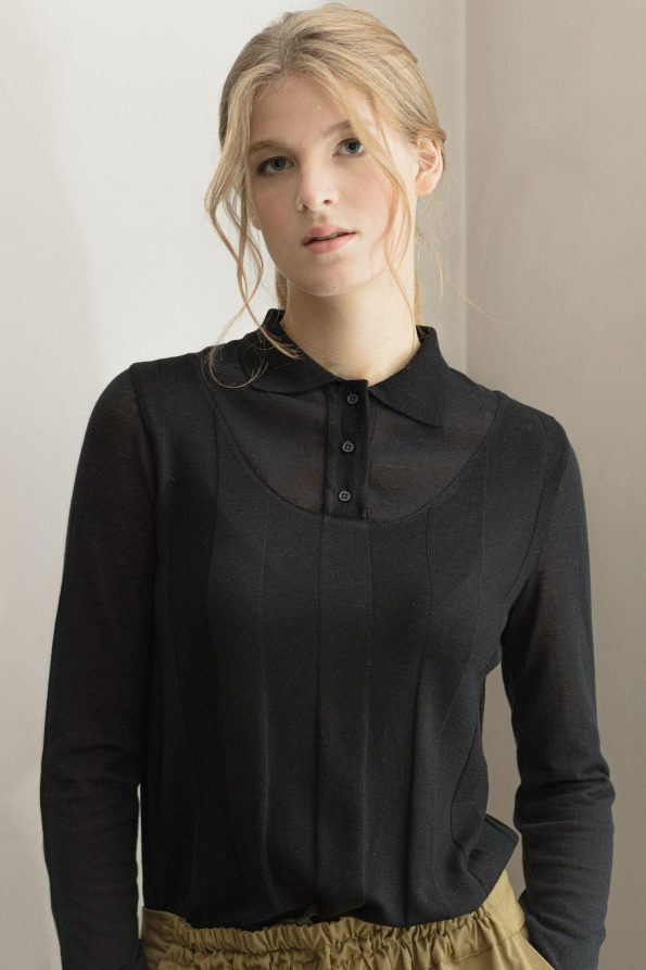 Sweater with buttons ILMA