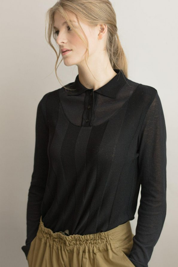 Knitted womens top ILMA