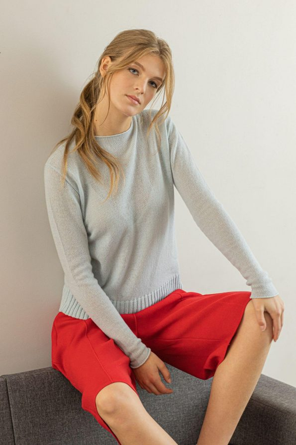 1-ply cashmere sweater pullover womens ANNA